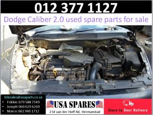 Dodge Caliber 2.0 2007-13 used engine spare parts for sale