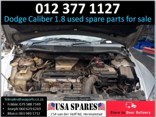 Dodge Caliber 1.8 2007-13 used engine spare parts for sale