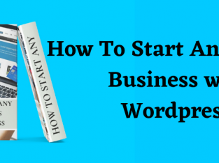 How to start any online business with WordPress