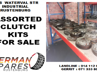 Assorted Clutch kits for sale