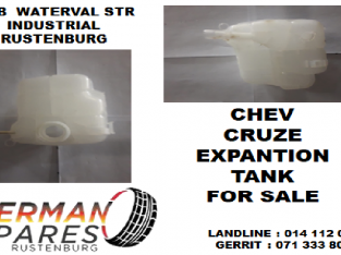 Chev Cruze expantion tank for sale