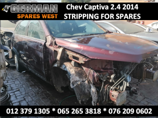 Chev Captiva 2.4 2014 Stripping for USED Spares