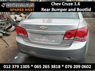Chev Cruze 1.6 USED Rear Bumper and Bootlid