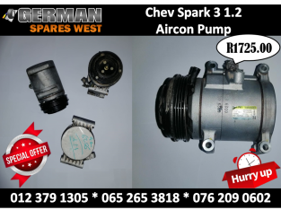 Chev Spark 3 1.2 USED Aircon Pump on SPECIAL !!