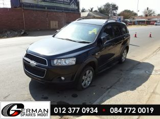 Chevrolet Captiva 2.4 Manual LE5 Stripping for Used Spares