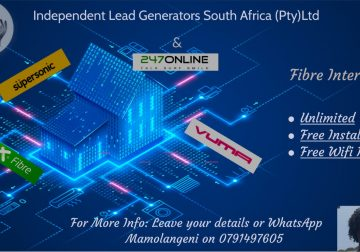 Wi-Fi/LTE Available for your home or office