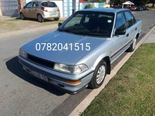 1997 Toyota Corolla Good condition papers in order Price R 24 500