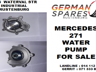 Mercedes 271 water pump for sale
