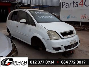 Opel Meriva 1.6 Manual Stripping for Used Spares