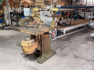Spindle Moulder with Feeder, ROBINSON