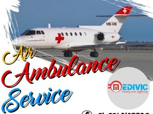 Acquire Superb Air Ambulance Service in Delhi by Medivic