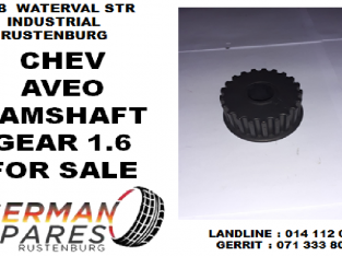 Chev Aveo camshaft gear 1.6 for sale