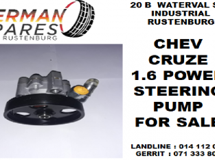 Chev Cruze 1.6 power steering pump for sale