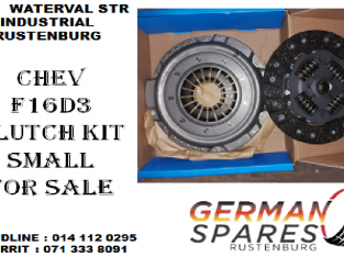 Chev F16D3 clutch kit small for sale