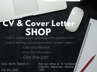 CV and Cover Letter write up!