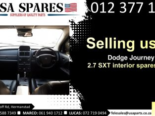 Dodge Journey 2.7 SXT 2007-19 used interior spare parts for sale