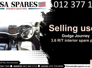 Dodge Journey 3.6 RT 2007-19 used interior spare parts for sale