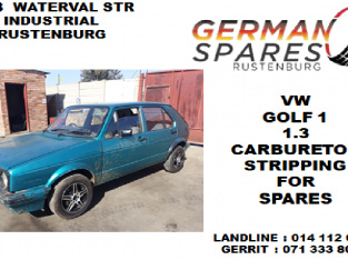 Vw Golf 1 1.3 stripping for spares