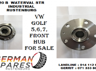 Vw Golf 5,6,7, front hub for sale