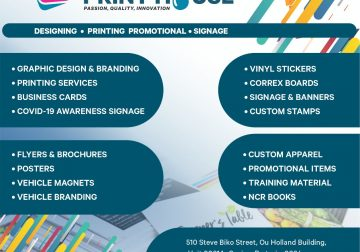 Printing and Branding services