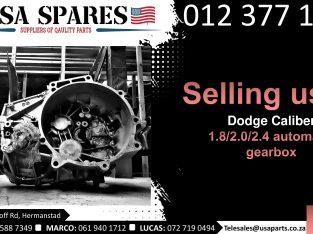 Dodge Caliber 1.8/2.0/2.4 2007-17 used auto gearbox for sale