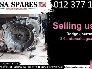 Dodge Journey 2.4 2007-19 used auto gearbox for sale