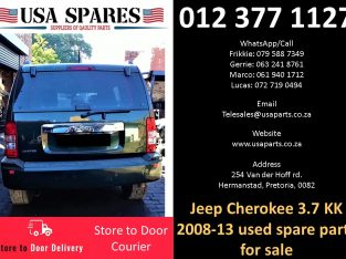 Jeep Cherokee 3.7 KK 2008-13 used spare parts for sale