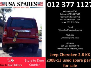 Jeep Cherokee 2.8 KK 2008-13 used spare parts for sale