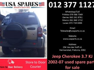Jeep Cherokee 3.7 KJ 2002-07 used spare parts for sale