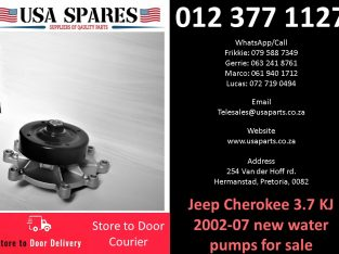 Jeep Cherokee 3.7 KJ 2002-07 new water pumps for sale