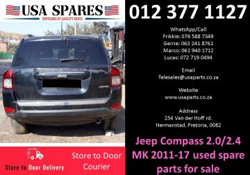 Jeep Compass 2.0/2.4 MK 2007-17 used spare parts for sale