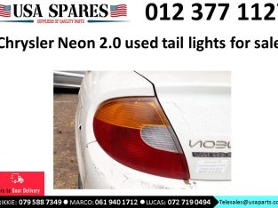 Chrysler Neon 2.0 LX 1999-05 used tail lights for sale
