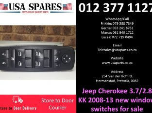Jeep Cherokee 3.7/2.8 KK 2008-21 new window switches for sale