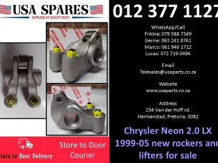 Chrysler Neon 2.0 LX 1999-05 new rockers and lifters for sale