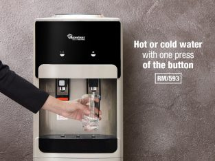 HOT AND COLD FREE STANDING WATER DISPENSER