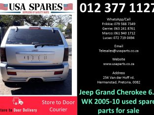 Jeep Grand Cherokee 6.1 WK 2005-10 used spare parts for sale
