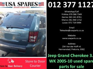 Jeep Grand Cherokee 3.0 WK 2005-10 used spare parts for sale