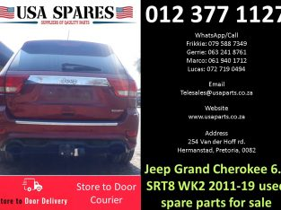 Jeep Grand Cherokee 6.4 WK2 SRT 2011-19 used spare parts for sale