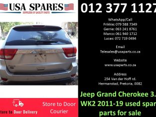 Jeep Grand Cherokee 3.6 WK2 2011-19 used spare parts for sale
