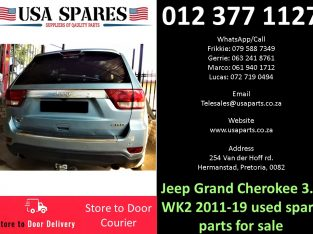 Jeep Grand Cherokee 3.0 WK2 2011-19 used spare parts for sale