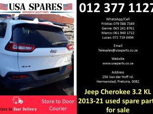Jeep Cherokee 3.2 KL 2011-19 used spare parts for sale