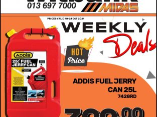 Addis Fuel Jerry Can 25L