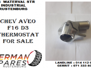 Chev Aveo F16 D3 Thermostat for sale