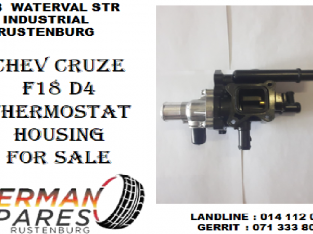 Chev Cruze F18 D4 Thermostat housing for sale