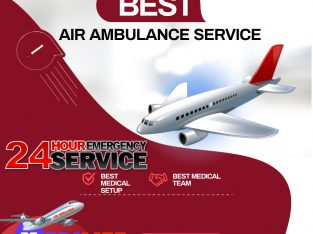 Transfer Patient Swiftly with Medilift Air Ambulance in Varanasi