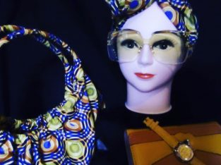 African print bags and accessories