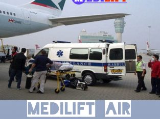 The Primacy of Medilift Air Ambulance in Guwahati with Doctor