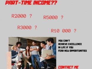 Amazing Part Time Opportunity